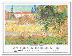 Antigua & Barbuda 1991, Postfris MNH, Flowers, Gardens - Antigua En Barbuda (1981-...)