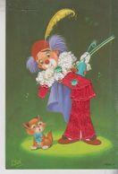 Brodé Brodèe Ricamate Embroidered Costumi Folklore Pagliaccio - Embroidered
