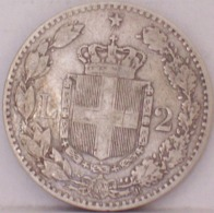 Umberto I 2 Lire 1887 - Argento - 1861-1946 : Regno