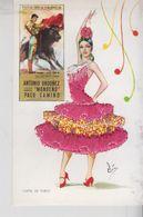 Brodé Brodèe Ricamate Embroidered Costumi Folklore Spain Spagna Cartel De Toros - Embroidered