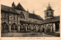 88 SAINT-DIE LE CLOITRE LA CATHEDRALE - Saint Die