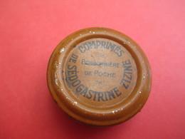 Boite Métallique Ancienne/Zizine/Comprimés De Sédogastrine/Bonbonniére De Poche/Vers 1930-1950 BFPP157 - Boxes