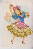 Brodé Brodèe Ricamate Embroidered Costumi Folklore Spain Spagna - Borduurwerk