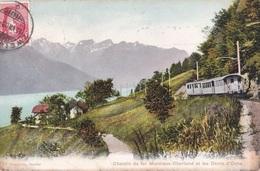 CHEMIN DE FER MONTREUX OBERLAND ET LES DENTS D'OCHE TRENO  VG   AUTENTICA 100% - Schweiz