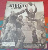 Miroir Sprint N° 36 28 Janvier 1947 Tournoi Cinq Nations France Irlande, Charles Rigoulot, Henri Contenet, Emile Allais - Livres, BD, Revues