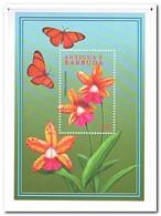 Antigua & Barbuda 2000, Postfris MNH, Flowers, Orchids, Butterflies - Antigua En Barbuda (1981-...)