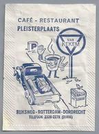 Suikerzakje.- Rijksweg ROTTERDAM - DORDRECHT. CAFÉ - RESTAURANT - PLEISTERPLAATS -. Vrachtwagen - Suiker