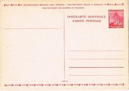 27451. Entero Postal BOHMEN Und MAHREN (Bohemia Moravia)  1,50 K. Ocupacion Checoslovaquia - Besetzungen 1938-45
