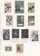 12 Werbemarken/Vignetten, Gummiert, Mit Falz, Zustand Siehe Scan - Vignetten (Erinnophilie)