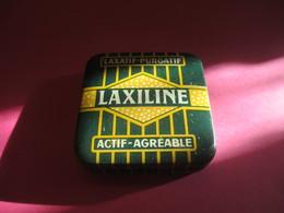 Boite Métallique Ancienne/Laxiline/Laxatif-Purgatif/Dragées à Sucer Ou Croquer/Coop Pharm. FR/Vers 1930-1950 BFPP202 - Boxes