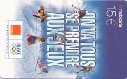 TELECARTE MOBICARTE 15 ON VA SE PRENDRE AUX JEUX 2003 - France