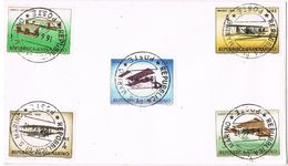 27453. Carta SAN MARINO 1966. Aviones - San Marino
