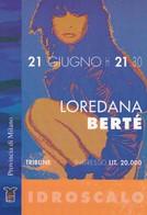 PROMOCARD N°  818  ESTATE ALL' IDROSCALO LOREDANA BERTE' - Reclame
