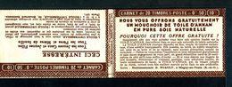 Carnet Semeuse 50c N°199 - Couverture Vide -  Série 224-C - Nombreux Thèmes. - Carnets