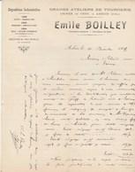 Jura - Arbois / Cesy - Emile Boilley - Grands Ateliers De Tournerie - 1909 - France
