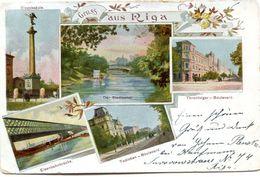 LETTONIE(RIGA) GRUSS - Lettonie