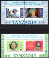 587-Tanzanie BF40A Et 40B** Reine Mère - Tanzanie (1964-...)