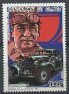 GUINEE 1987 - Yvert 837 - Automobile Bugatti - Neuf ** (MNH) Sans Charniere - Guinée (1958-...)