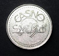 "Jeton 1986 ""Casino Municipale San Remo"" Italie - Slot Token - Chip - Casino"
