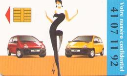 CARTE JEU DU RADIOTELEPHONE RENAULT 1995 - Frankreich