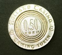 "Jeton 2002 ""0,50€ Holland Casino"" Amsterdam - Pays-Bas - Slot Token - Chip - Casino"