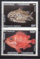 NOUVELLE-CALEDONIE ( POSTE ) : Y&T N°  617/618  TIMBRES  NEUFS  SANS  TRACE  DE  CHARNIERE , A  VOIR . - Nueva Caledonia