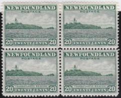 Newfoundland          .   SG   .      219  Bloc Of 4      .      **     .      MNH    .   /   .     Postfris - Newfoundland