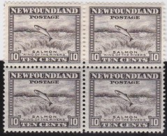 Newfoundland          .   SG   .      215   Bloc Of 4    .      **     .      MNH    .   /   .     Postfris - Newfoundland