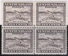 Newfoundland          .   SG   .      215   Bloc Of 4    .      **     .      MNH    .   /   .     Postfris - 1908-1947