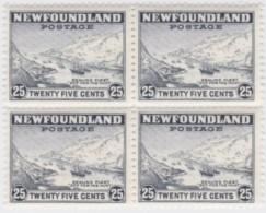 Newfoundland          .   SG   .      291   Bloc  Of  4    .      **     .      MNH    .   /   .     Postfris - Newfoundland