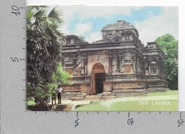 CARTOLINA VG SRI LANKA - POLONNARUWA - 10 X 15 - ANN. 2002 - Sri Lanka (Ceylon)