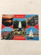 Cartolina-Udine-Lignano Saluti - Udine