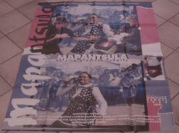 AFFICHE CINEMA ORIGINALE FILM MAPANTSULA Oliver SCHMITZ Thomas MOGOTLANE AFRIQUE DU SUD APARTHEID 1988 TBE - Posters