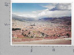 CARTOLINA VG PERU - CUSCO - Landscape - 10 X 15 - ANN. 1999 - Perù