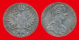 Autriche Austria 55 De 1780 X SUP (ct3) 1 Thaler De Marie-Thérèse 41mm Tranche En Relief, 28,0668gr Argent 833,333°/oo ( - Austria