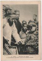 Carte Postale - CPA - Spectacle De Famine - Un Missionnaire Distribue Du Riz Aux Enfants Affamés - Chine