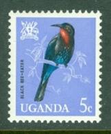 Uganda: 1965   Birds   SG113    5c    MH - Uganda (1962-...)