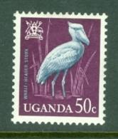 Uganda: 1965   Birds   SG119    50c    MH - Uganda (1962-...)