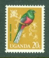 Uganda: 1965   Birds   SG116    20c    MH - Uganda (1962-...)