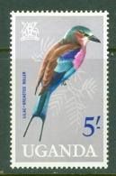 Uganda: 1965   Birds   SG124    5/-    MH - Uganda (1962-...)