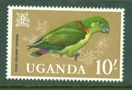 Uganda: 1965   Birds   SG125    10/-    MH - Uganda (1962-...)