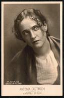 B1217 - Antonia Dietrich Als Gretchen - A. Dous Dresden - Autogrammkarte TOP - Theater