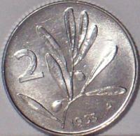 Repubblica Italiana 2 Lire 1953 - 1946-… : Repubblica