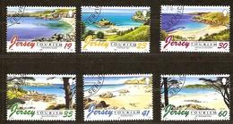 Jersey 1996 Yvertn°  742-747  (°) Oblitéré Used Cote 10,00 Euro Tourisme Toerisme - Jersey