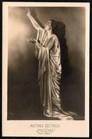 B1218 - Antonia Dietrich Iphigenie - A. Dous Dresden - Autogrammkarte TOP - Theater