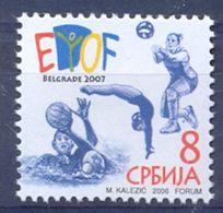 SRB 2006-ZZ06 EU-OLY FEST, SERBIA, 1 X 1v, MNH - Serbien