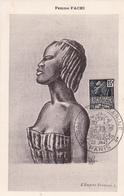 Carte-Maximum FRANCE N° Yvert 270 (FEMME FACHI) Obl Sp Ill 1943 RR - Maximumkarten