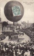 78 - MANTES - ENLEVEMENT D'UN BALLON PLACE DE ROSNY - 1904 - - Mantes La Ville