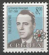 SRB 2007-ZZ08 RED CRSS, SERBIA, 1 X 1v, MNH - Serbien