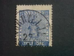 """SUEDE  ( O )  De  1858 / 1870  """"   Valeur En ÖRE   """"  N° 8          1 Valeur . - Oblitérés"""